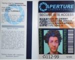 Aperture Labs Badge