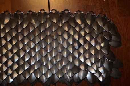Scalemail assembly