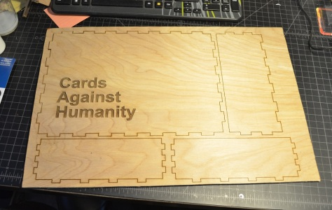 CAH: Raw Lasercut