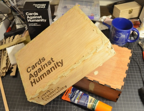 CAH with wood filler