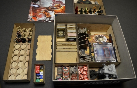 Star Wars Imperial Assault Custom Insert by Stefan