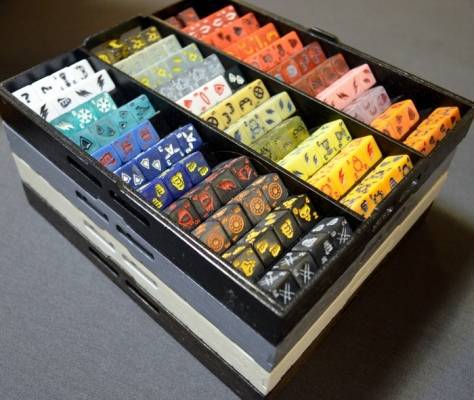 Dice Master Trays with Dice