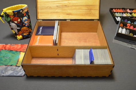 Dice Masters Custom Laser Cut Box