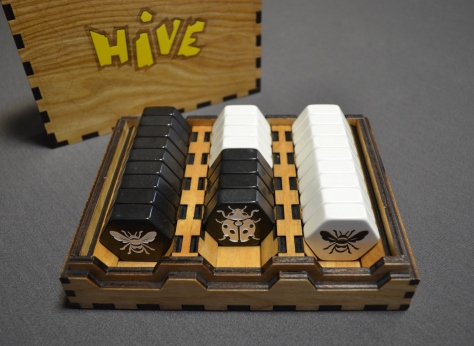 Hive in use