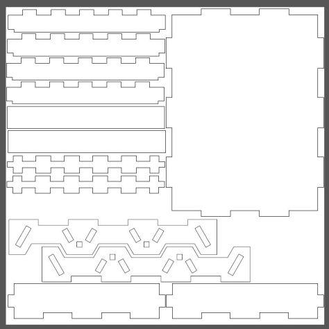 Hive layout