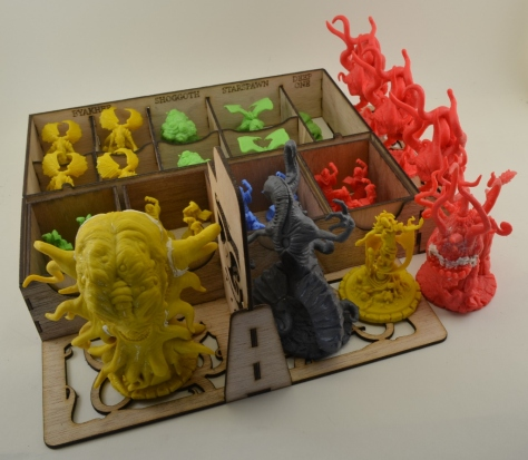 Cthulhu Wars Layer 1 (Populated)