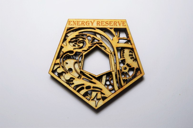 Wood Kaladesh Energy Reserves Token Counter
